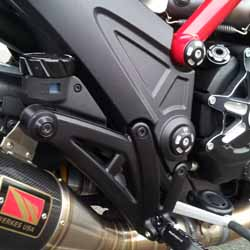 Project Diavel: Close up of the Right Side of the Bike - April 2015